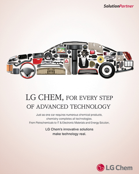 LG Chem, For Every Step of Advanced Technology.