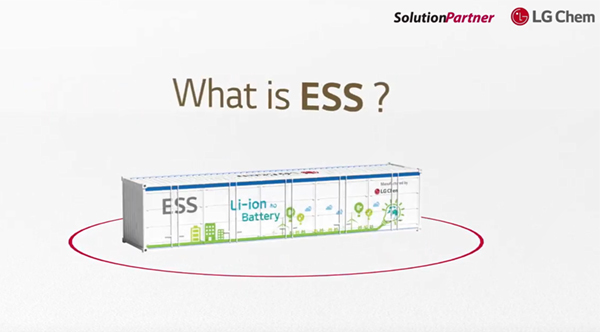 LG Chem Grid scale ESS Battery Solutions